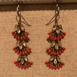 Stella & Dot 'Coral Cay' Convertible Earrings
